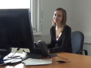 與奧地利女孩辦公室性交