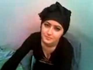 Arab Hijab Girl Flashing