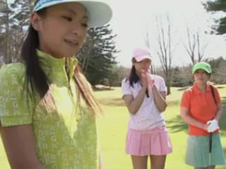 日本女子高尔夫3柚子宫なお平松惠理香国见奈