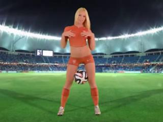 FIFA 2018 ποδόσφαιρο ποδόσφαιρο κορίτσια Ολλανδία