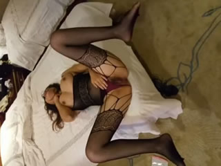 Chinese F Cup Fishnet Fucked