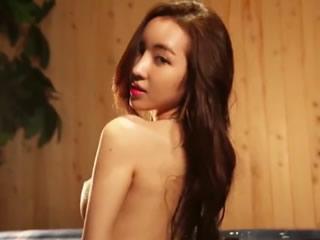韩国性感诱惑模特音乐照片2