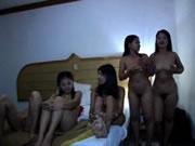 Cambodian Bar Girls At The Hotel