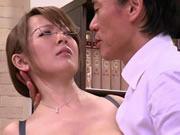 Asian Hitomi Tanaka With Big Tits Undressing At The Office