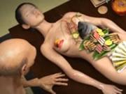 3D Hentai Eat Sushi