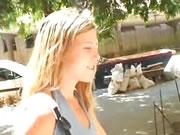 西班牙18歲金發蘿莉亂搞