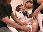 Harsh Pleasures For Ayaka Fujikita In Nasty Threesome