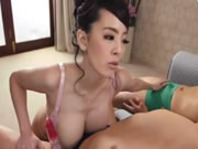 Big Tits Japanese Tit Fucks Two Guys