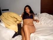 異國情調的性感印度妻子