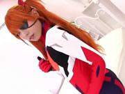 Cosplay de Evangelion Asuka
