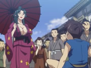 Manyuu Hikenchou Episode 2  Assassin Breast Illusion