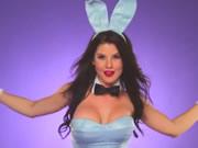 花花公子 阿曼达塞尔尼兔女郎裸舞