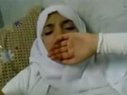 Mısır peçeli kadın