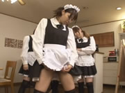 Japanese Maid Facesitting
